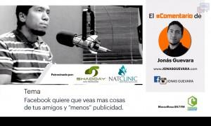 Live Streaming de Facebook | El Comentario de Jonás Guevara